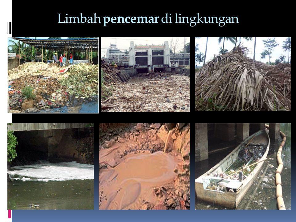 Limbah pencemar di lingkungan