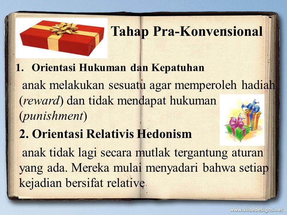 Tahap Pra-Konvensional
