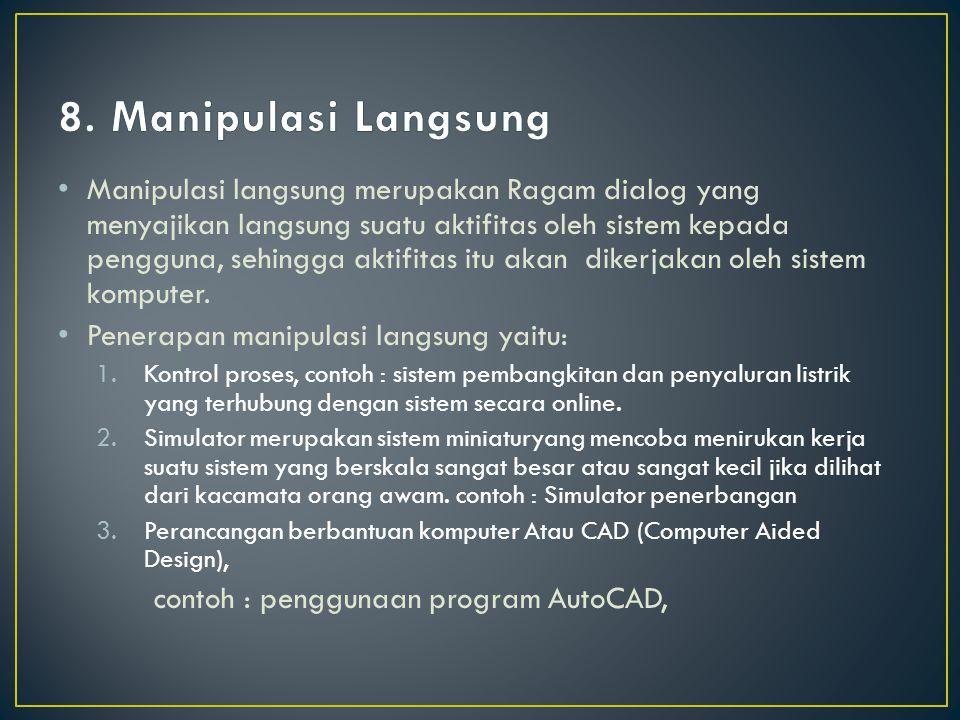8. Manipulasi Langsung