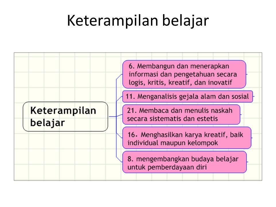 Keterampilan belajar