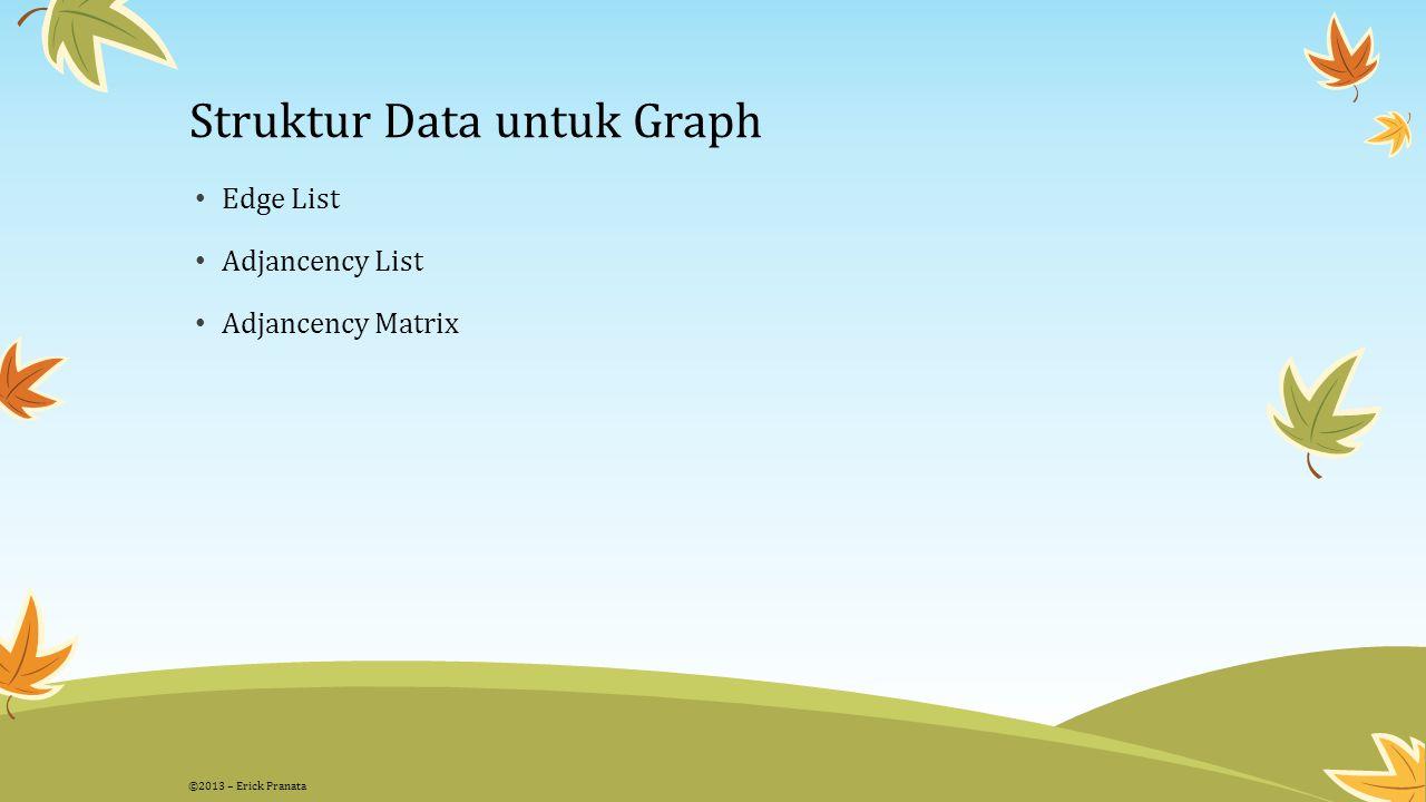 Struktur Data untuk Graph