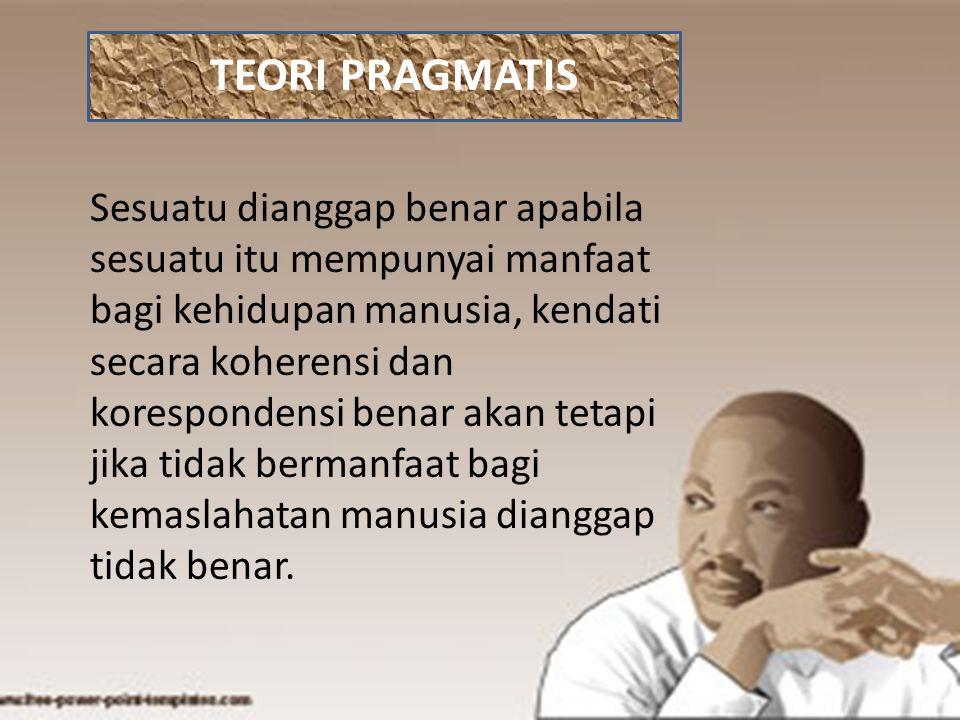 TEORI PRAGMATIS