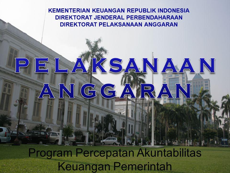 Program Percepatan Akuntabilitas Keuangan Pemerintah