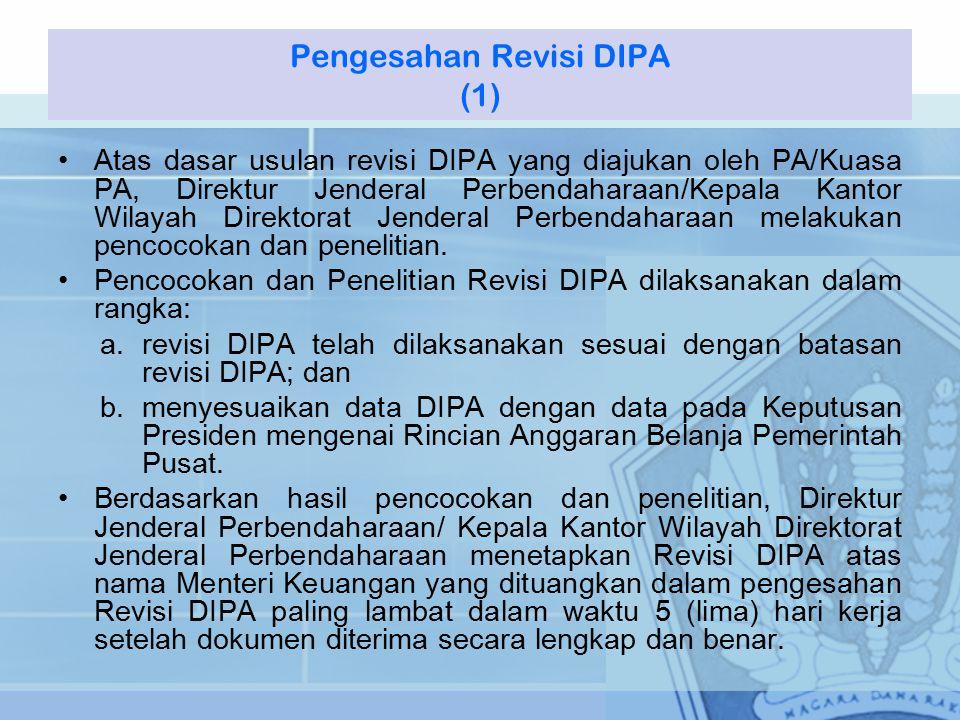 Pengesahan Revisi DIPA (1)