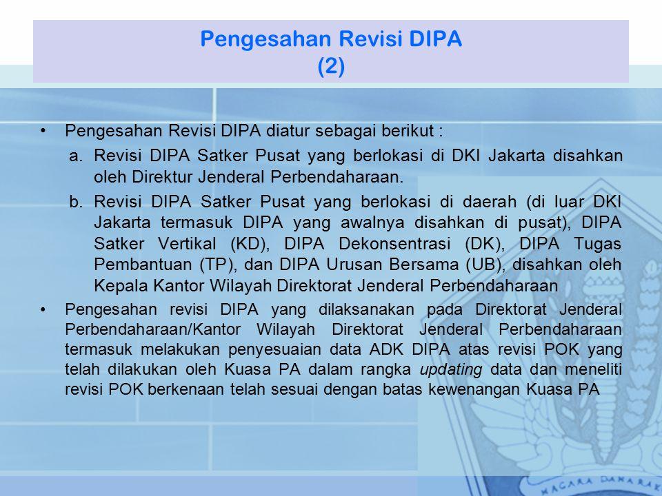 Pengesahan Revisi DIPA (2)