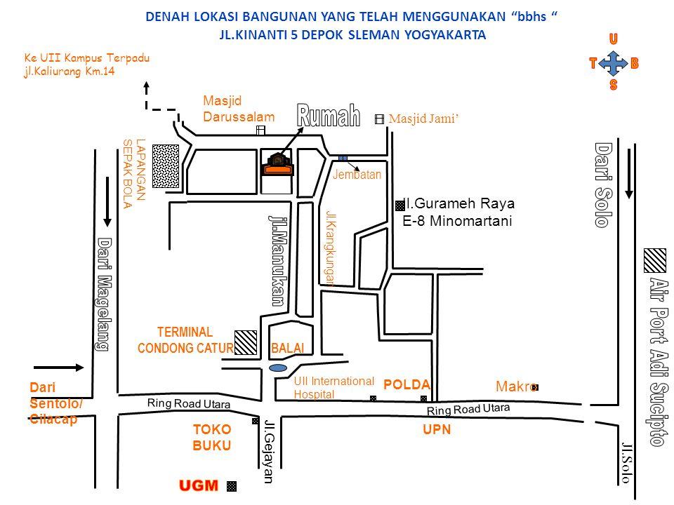 Jl.Gurameh Raya E-8 Minomartani