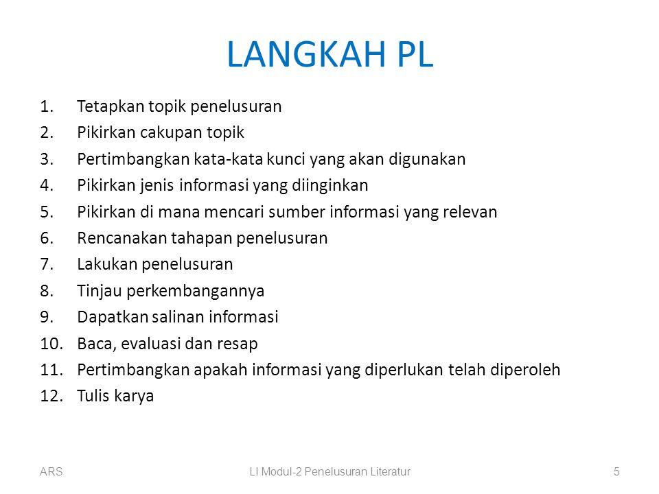 LI Modul-2 Penelusuran Literatur
