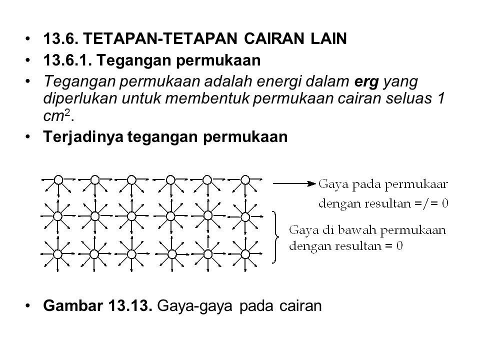13.6. TETAPAN-TETAPAN CAIRAN LAIN