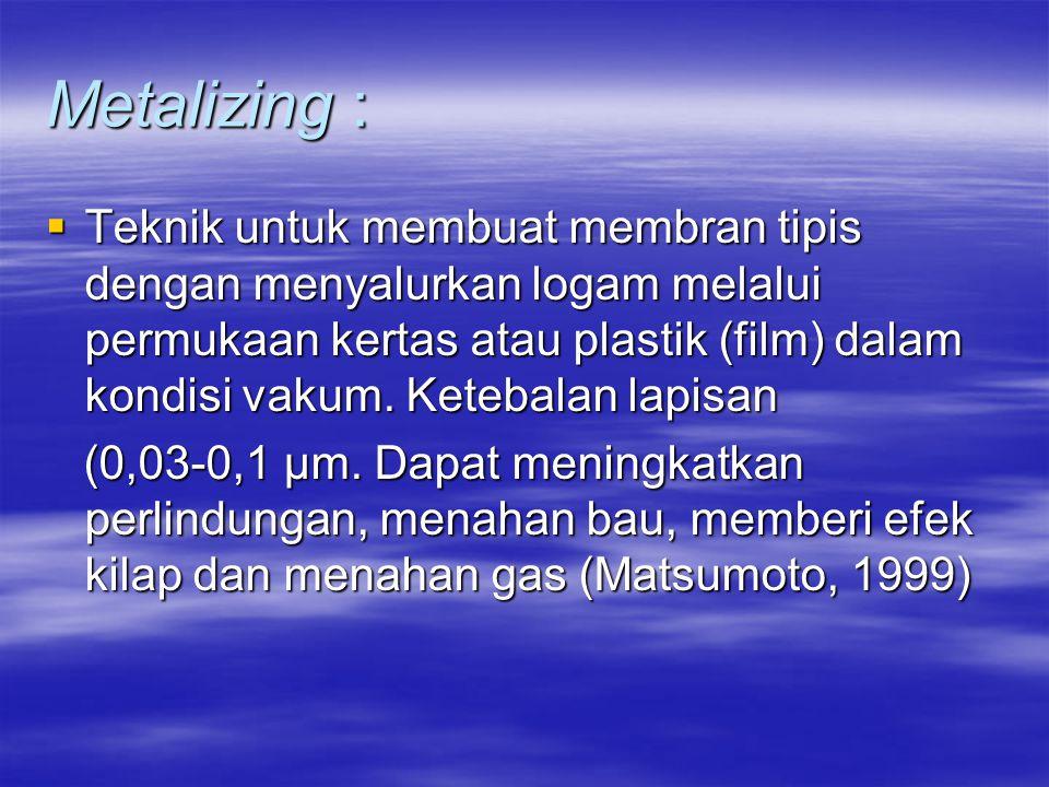 Metalizing :