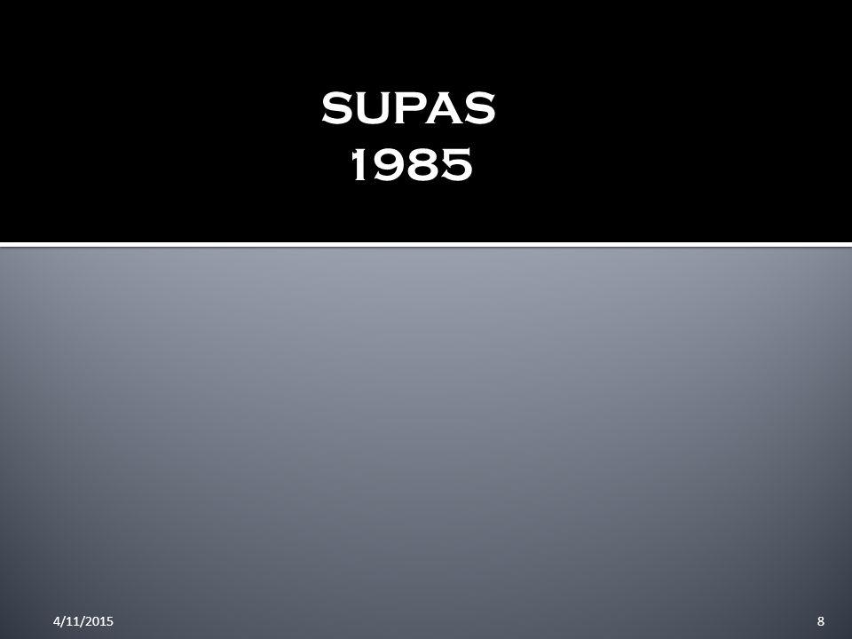 SUPAS 1985 4/10/2017