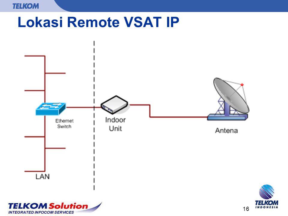 Lokasi Remote VSAT IP