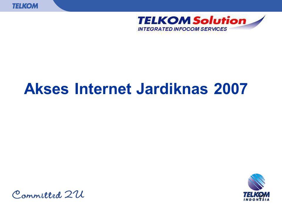 Akses Internet Jardiknas 2007