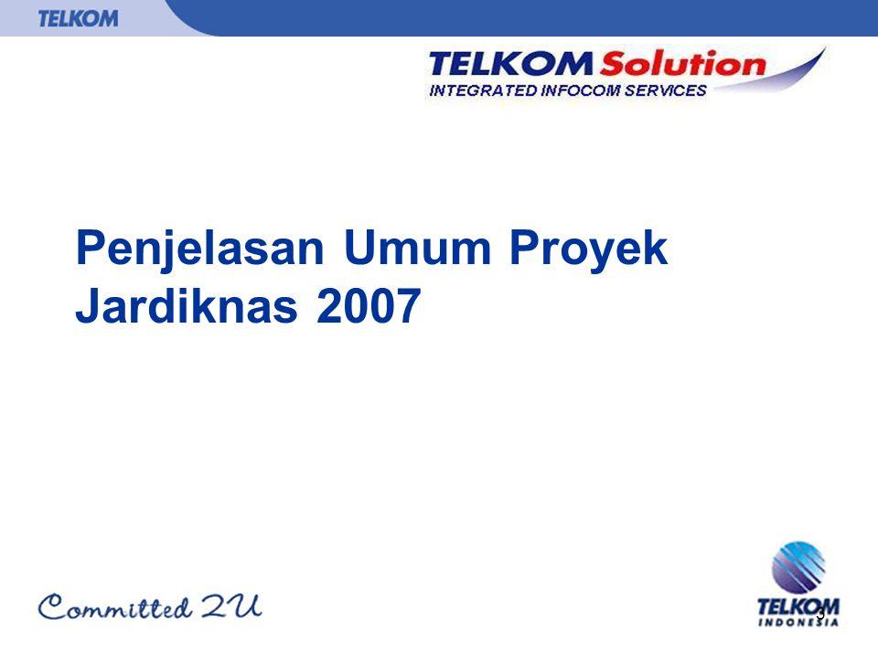 Penjelasan Umum Proyek Jardiknas 2007