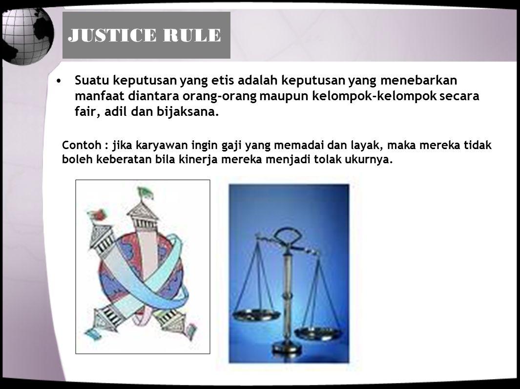 JUSTICE RULE