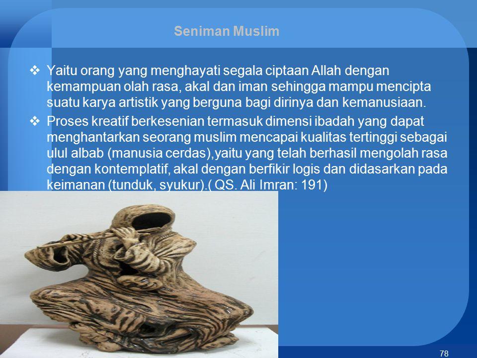 Seniman Muslim