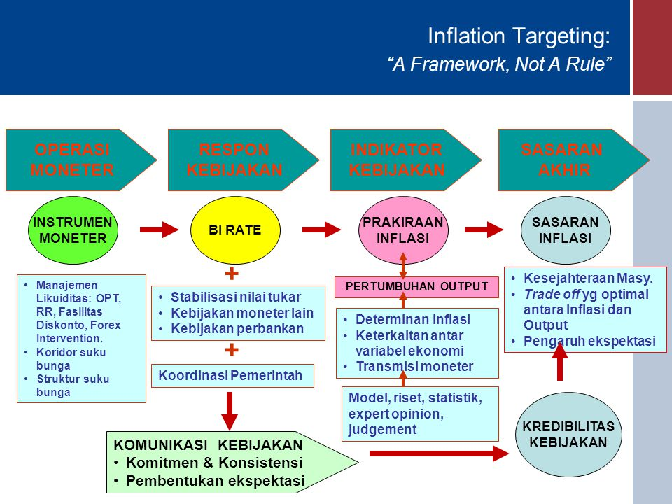 Inflation Targeting: A Framework, Not A Rule