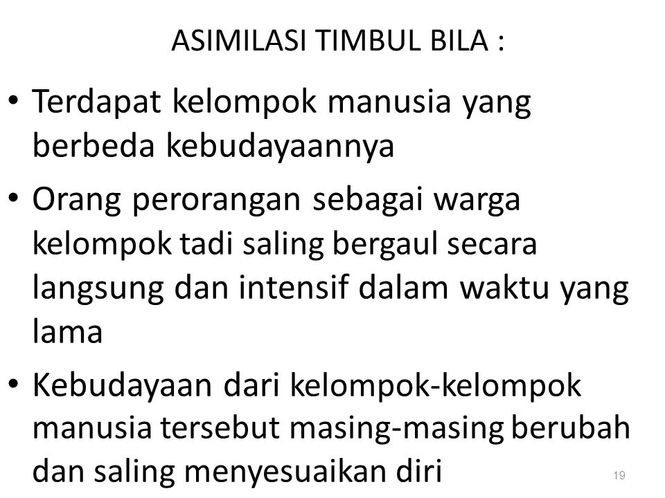 ASIMILASI TIMBUL BILA :