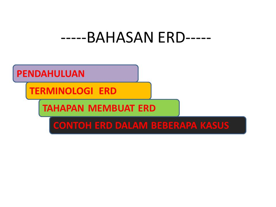 -----BAHASAN ERD-----