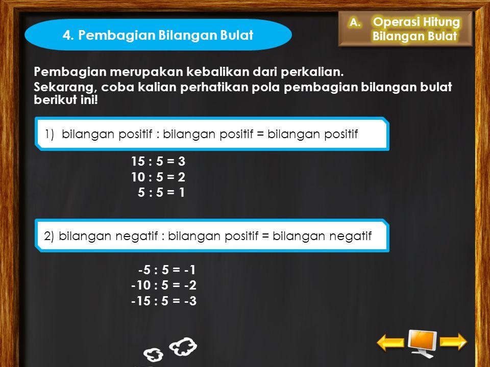 4. Pembagian Bilangan Bulat