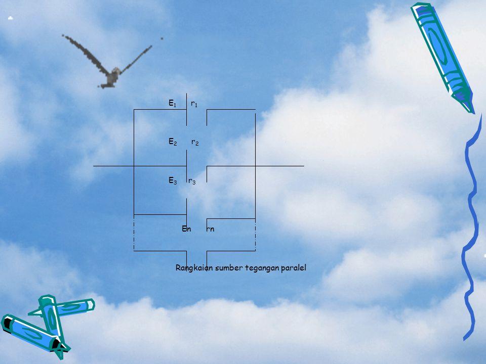 Rangkaian sumber tegangan paralel