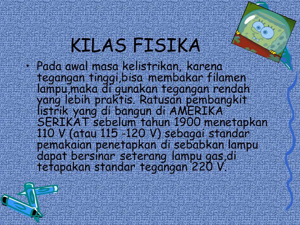 KILAS FISIKA
