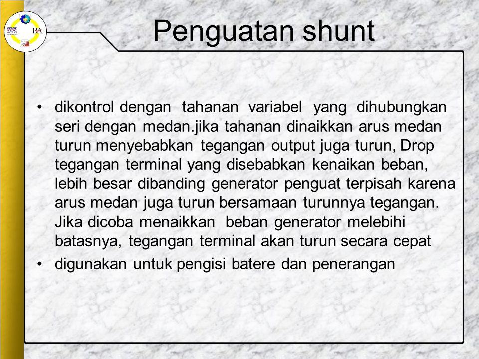 Penguatan shunt