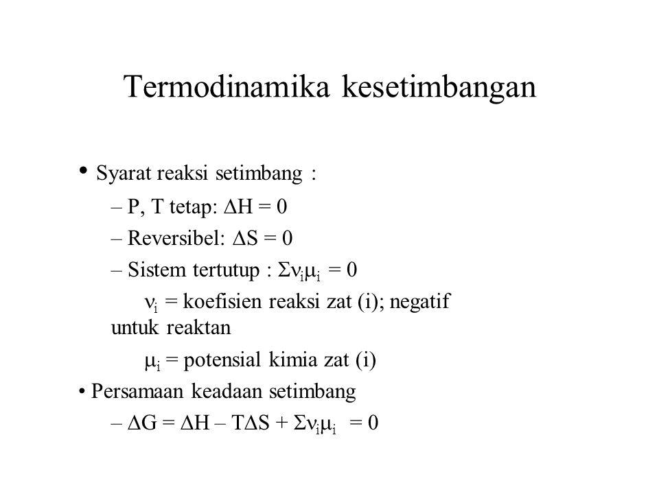 Termodinamika kesetimbangan