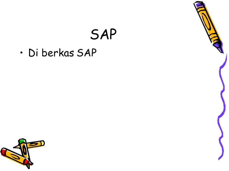 SAP Di berkas SAP