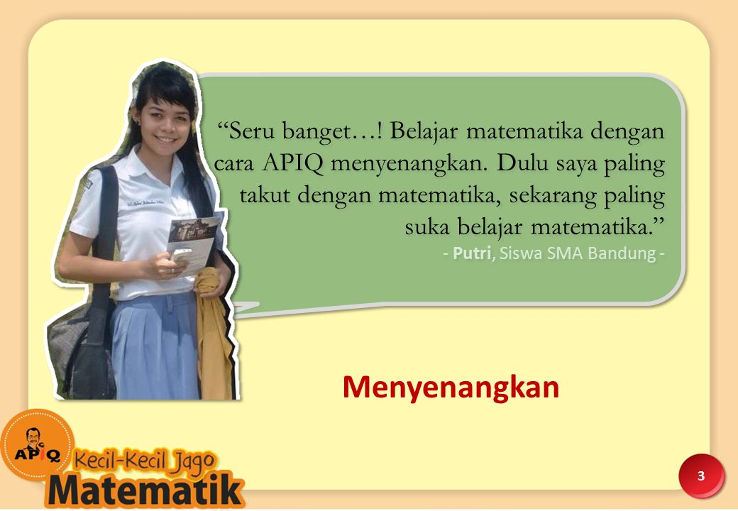 - Bu Dewi, Orang Tua Siswa, Jakarta -