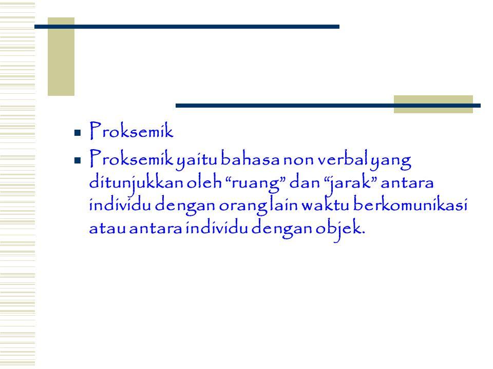 Proksemik
