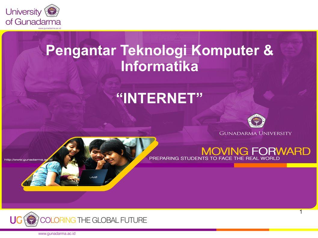 Pengantar Teknologi Komputer & Informatika