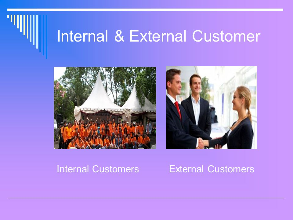 Internal & External Customer