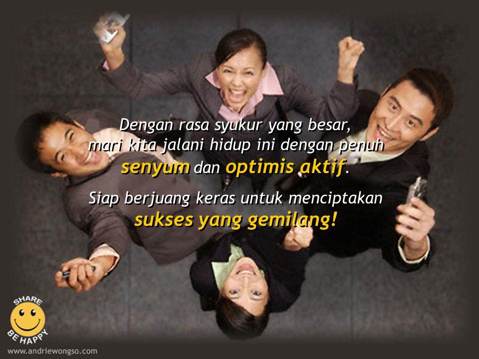 Siap berjuang keras untuk menciptakan sukses yang gemilang!