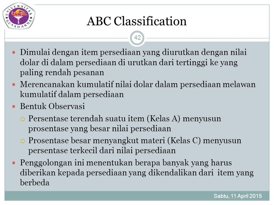ABC Classification