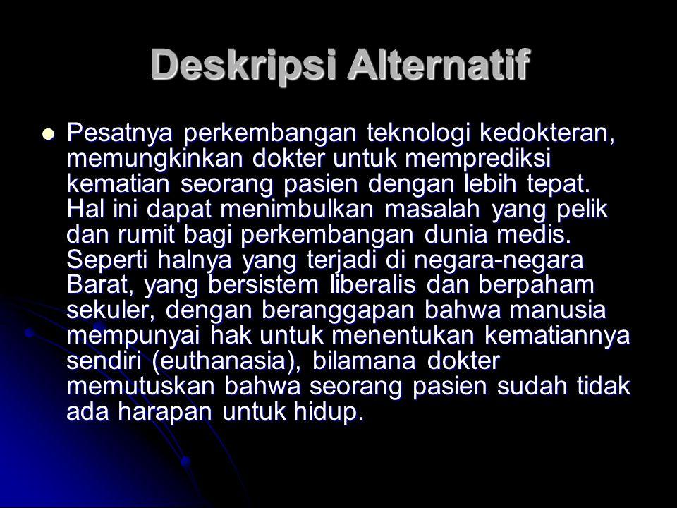 Deskripsi Alternatif