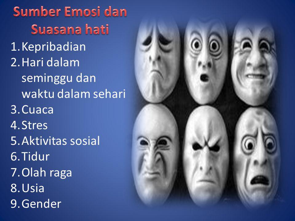 Sumber Emosi dan Suasana hati