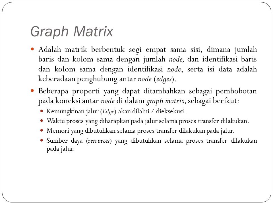 Graph Matrix
