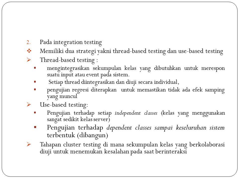 Pada integration testing