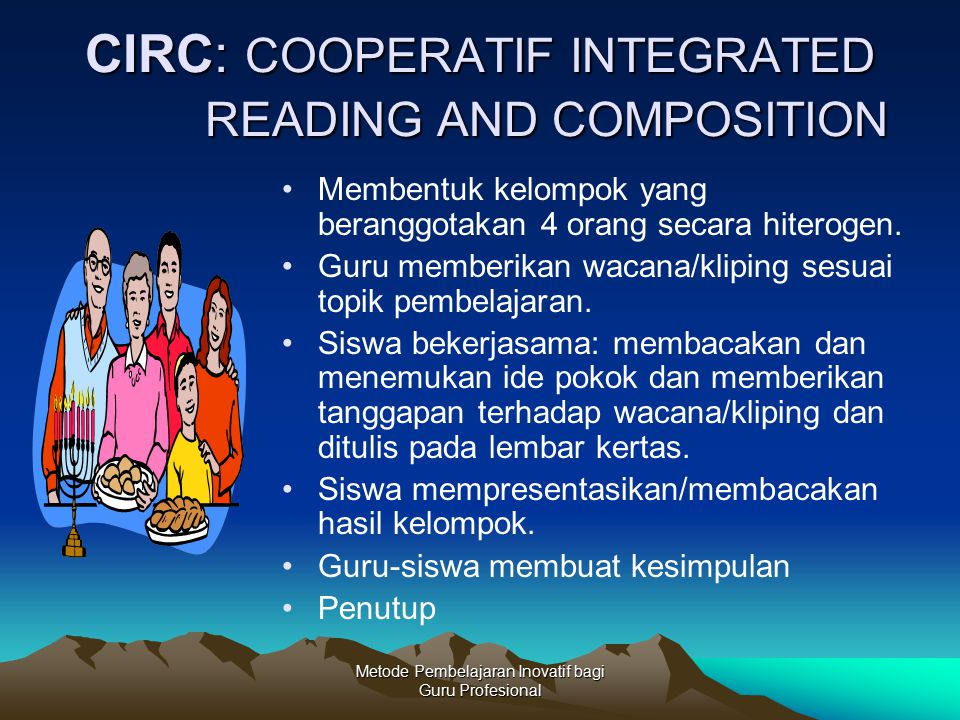 CIRC: COOPERATIF INTEGRATED READING AND COMPOSITION