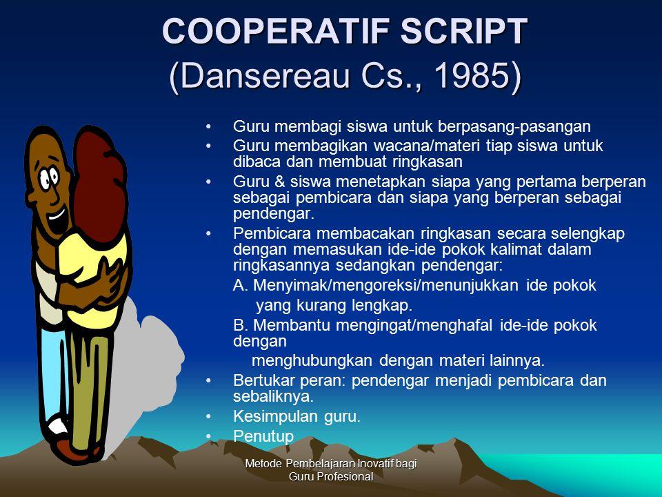 COOPERATIF SCRIPT (Dansereau Cs., 1985)