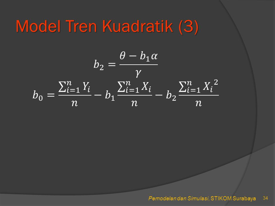 Model Tren Kuadratik (3)