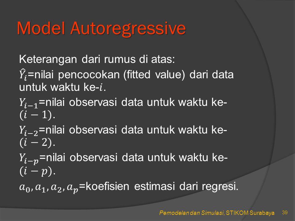 Model Autoregressive