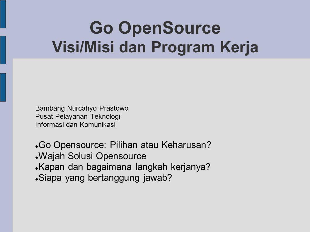 Go OpenSource Visi/Misi dan Program Kerja