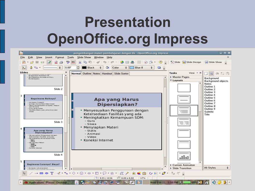 Presentation OpenOffice.org Impress