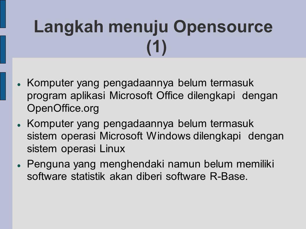 Langkah menuju Opensource (1)