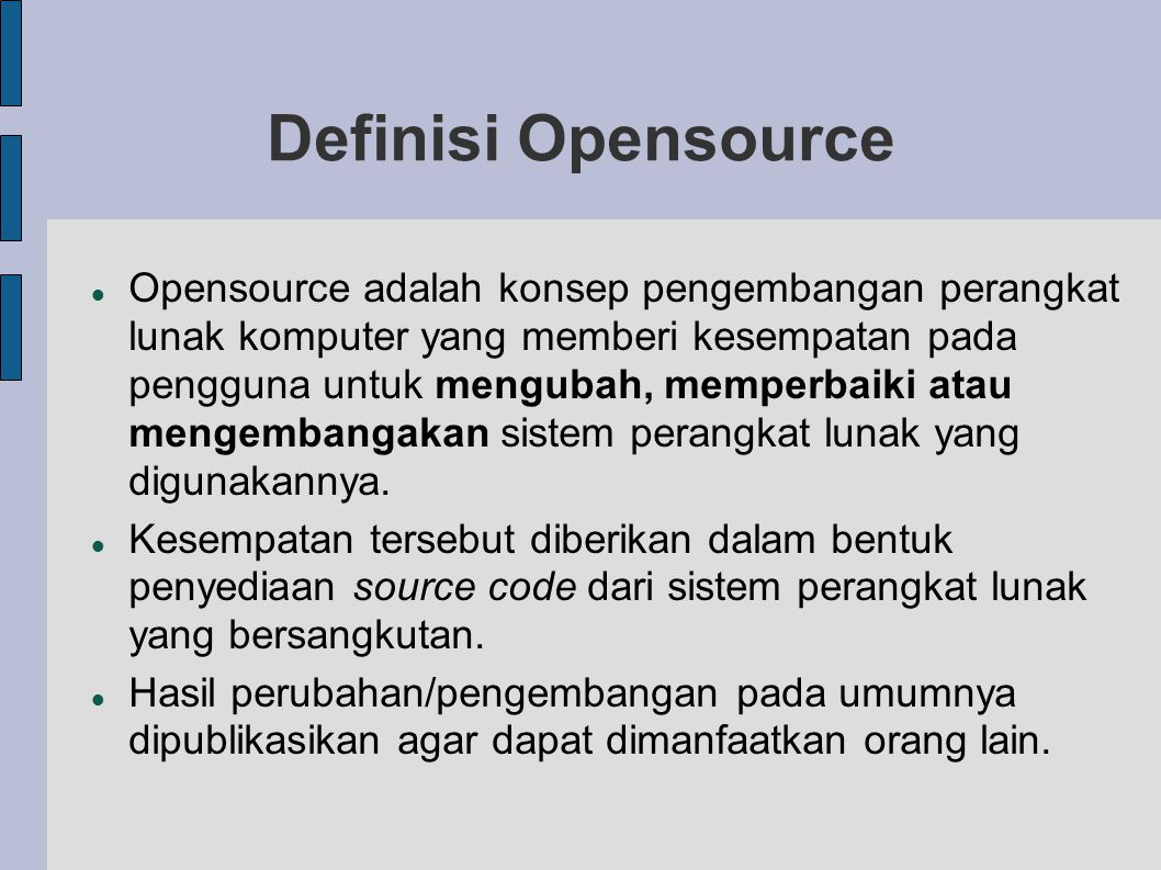 Definisi Opensource