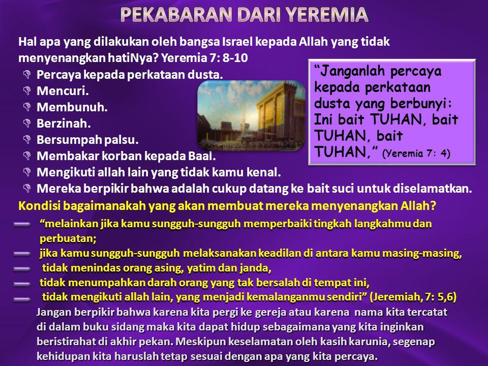 PEKABARAN DARI YEREMIA