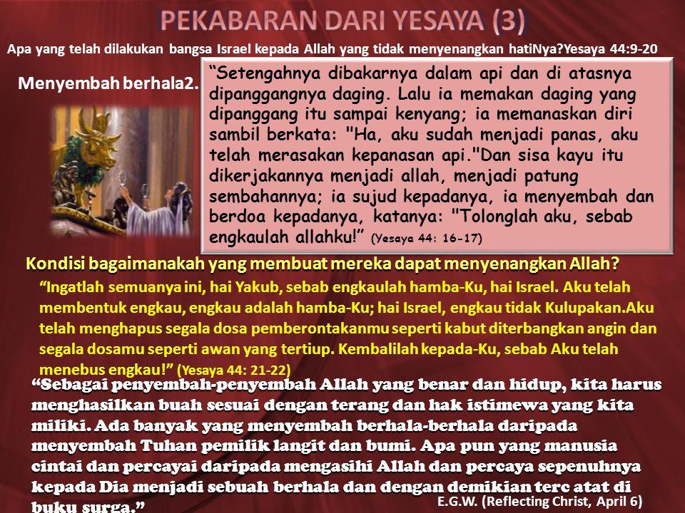 PEKABARAN DARI YESAYA (3)