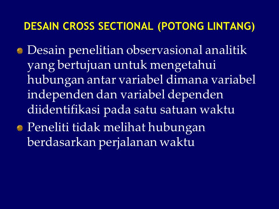 DESAIN CROSS SECTIONAL (POTONG LINTANG)