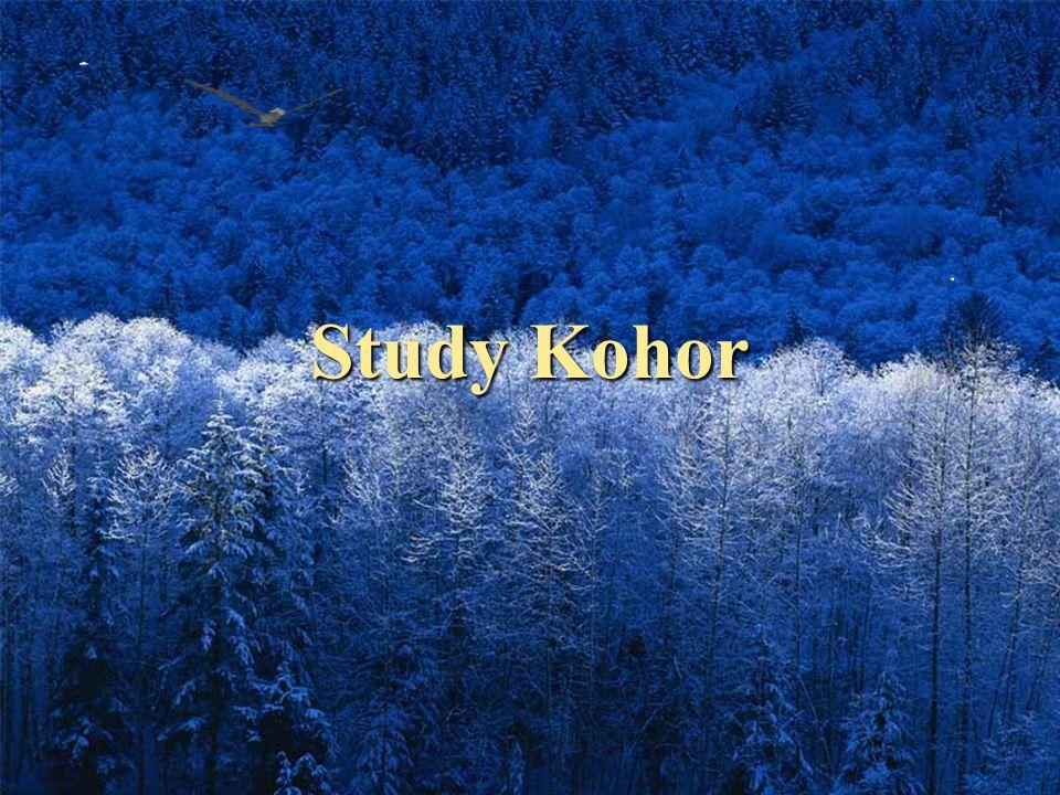 Study Kohor